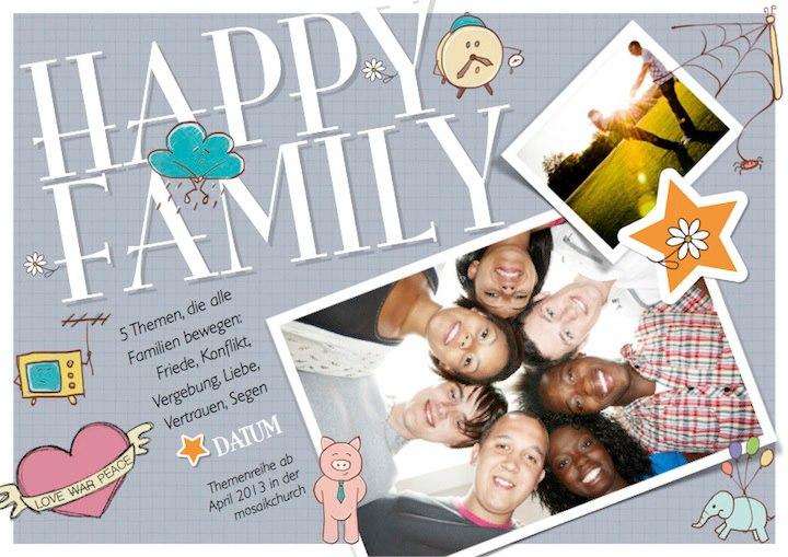 Happy Family. Segen