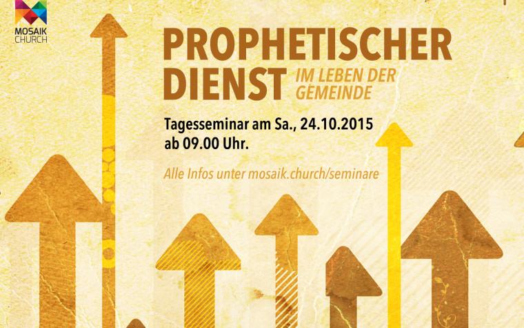 Prophetischer Dienst – Im Leben der Gemeinde