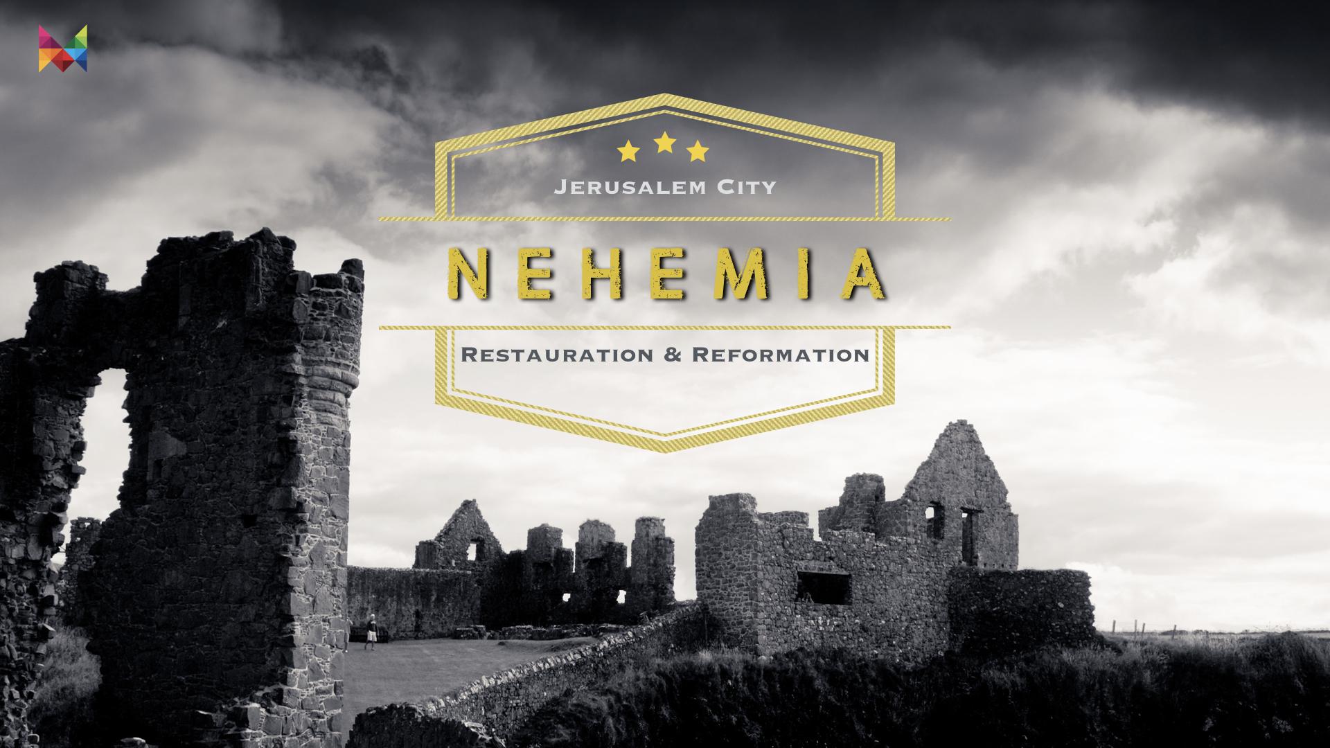Nehemia. 08 Lebe in Aktion nicht Reaktion
