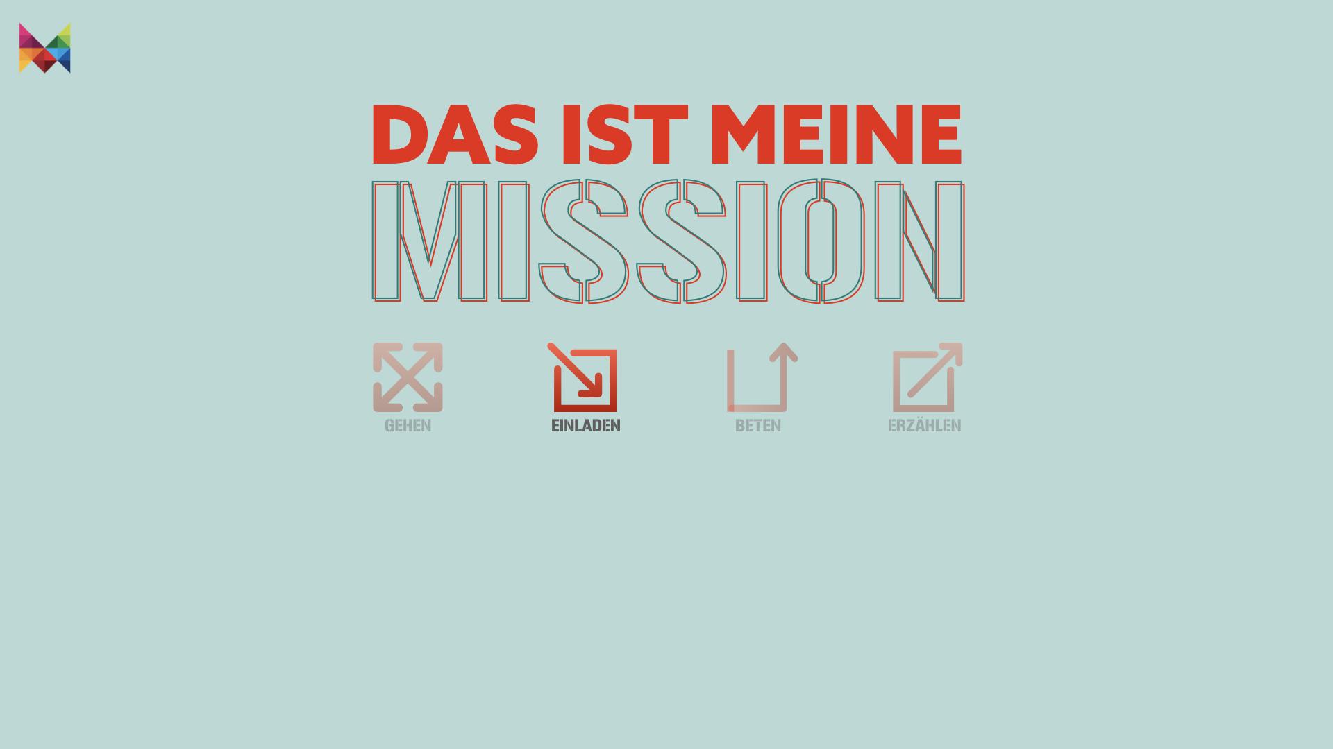Meine Mission: Einladen